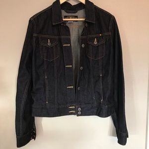 Like New Lucky 🍀 Bran dark denim jean jacket